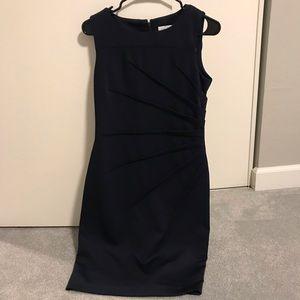 Calvin Klein Navy Sleeveless (Size 4)